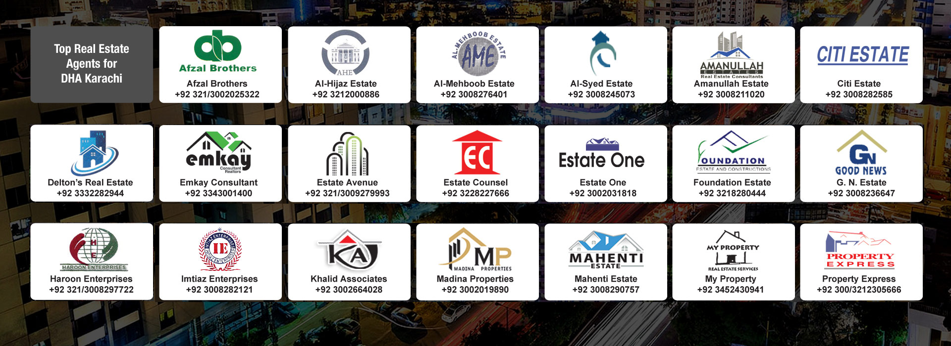 All Pakistan Real Estate Directory - PakRealEstate com